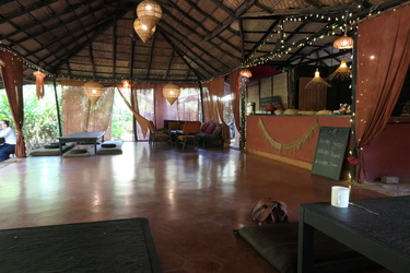 SWAN Yoga Retreat - dinning place